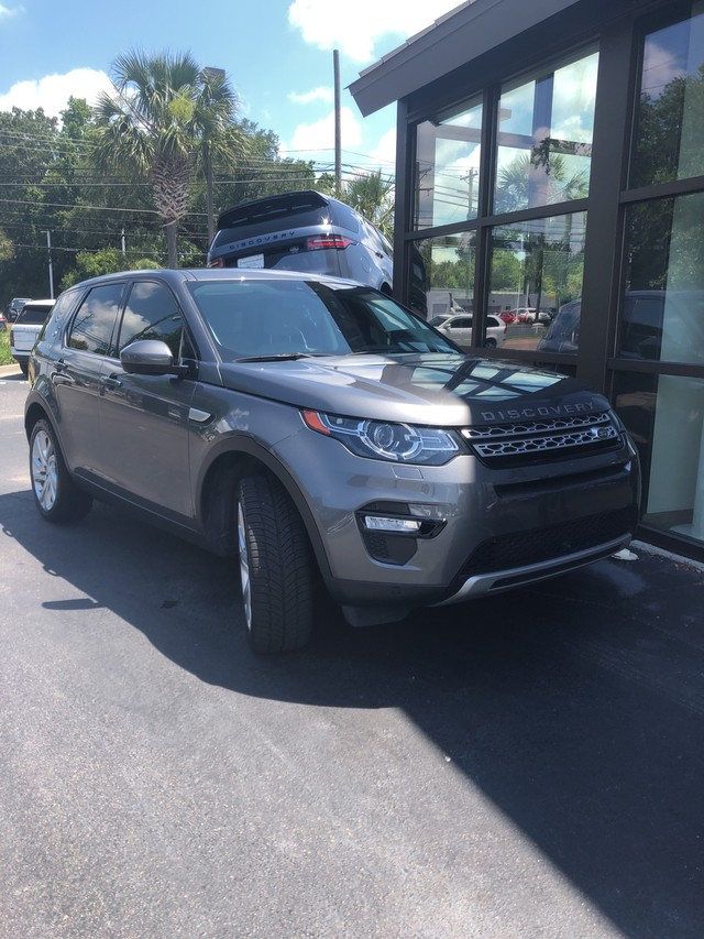 Photo Certified Pre-Owned 2015 Land Rover Discovery Sport HSE Four Wheel Drive SUV