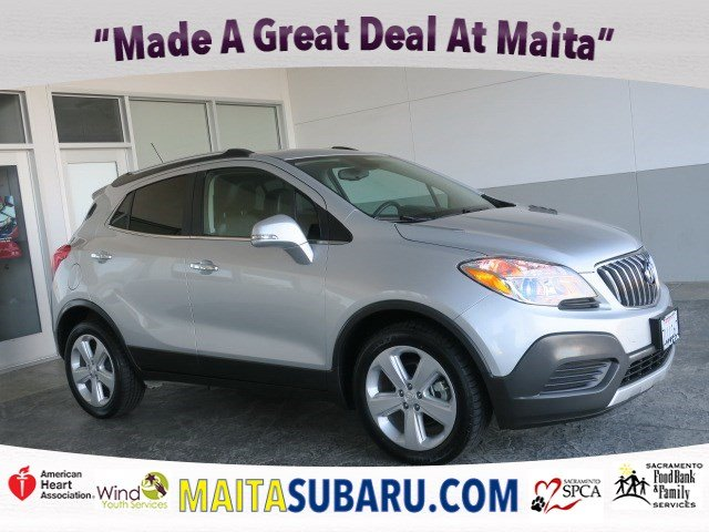 Photo Used 2015 Buick Encore Available in Sacramento CA