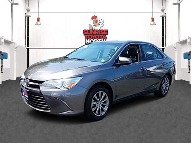 Photo Certified Used 2015 Toyota Camry XLE Sedan For Sale on Long Island, New York
