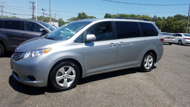 Photo Certified Used 2015 Toyota Sienna LE Van For Sale on Long Island, New York