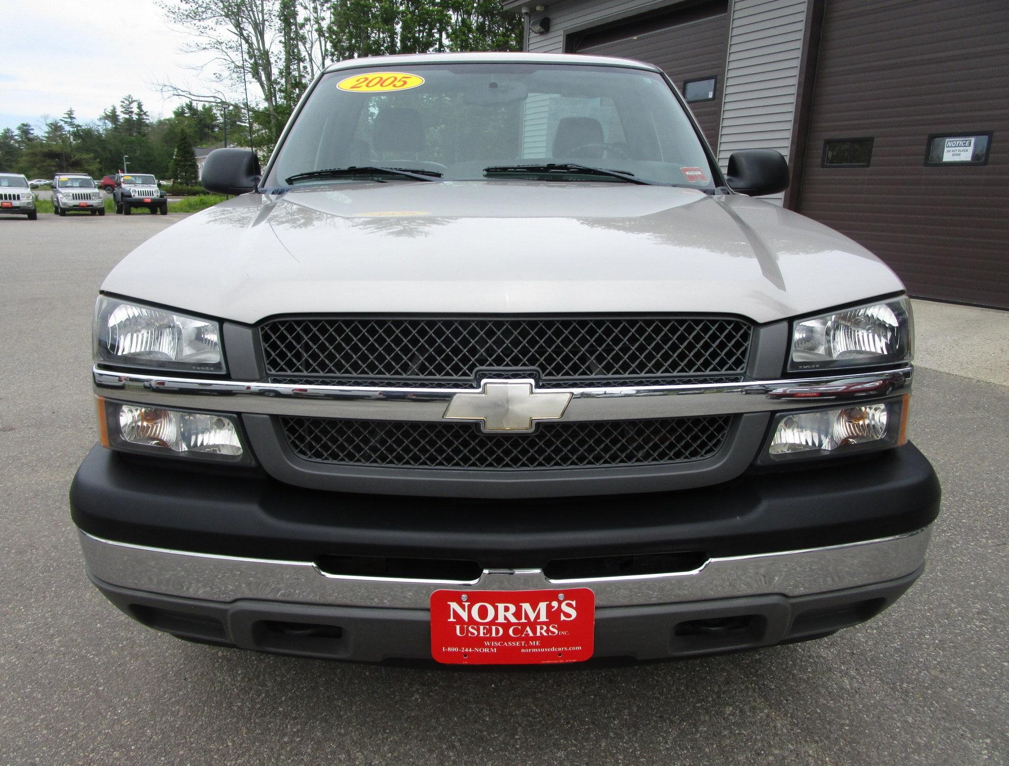 Photo Used 2005 Chevrolet Silverado 1500 For Sale  Wiscasset ME