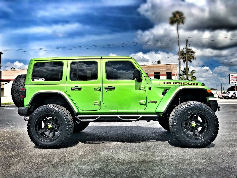Photo Used 2018 Jeep All-New Wrangler Unlimited MOJITO RUBICON LEATHER LIFTED NAV