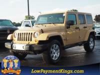 2013 Jeep Wrangler Unlimited Sahara SUV 4WD