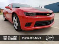 Pre-Owned 2015 Chevrolet Camaro SS RWD 2D Coupe