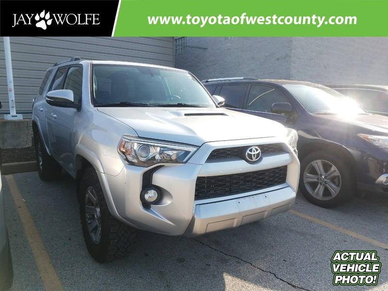 Photo Certified Pre-Owned 2014 TOYOTA 4RUNNER 4WD 4DR V6 TRAIL PREMIUM Four Wheel Drive Sport Utility