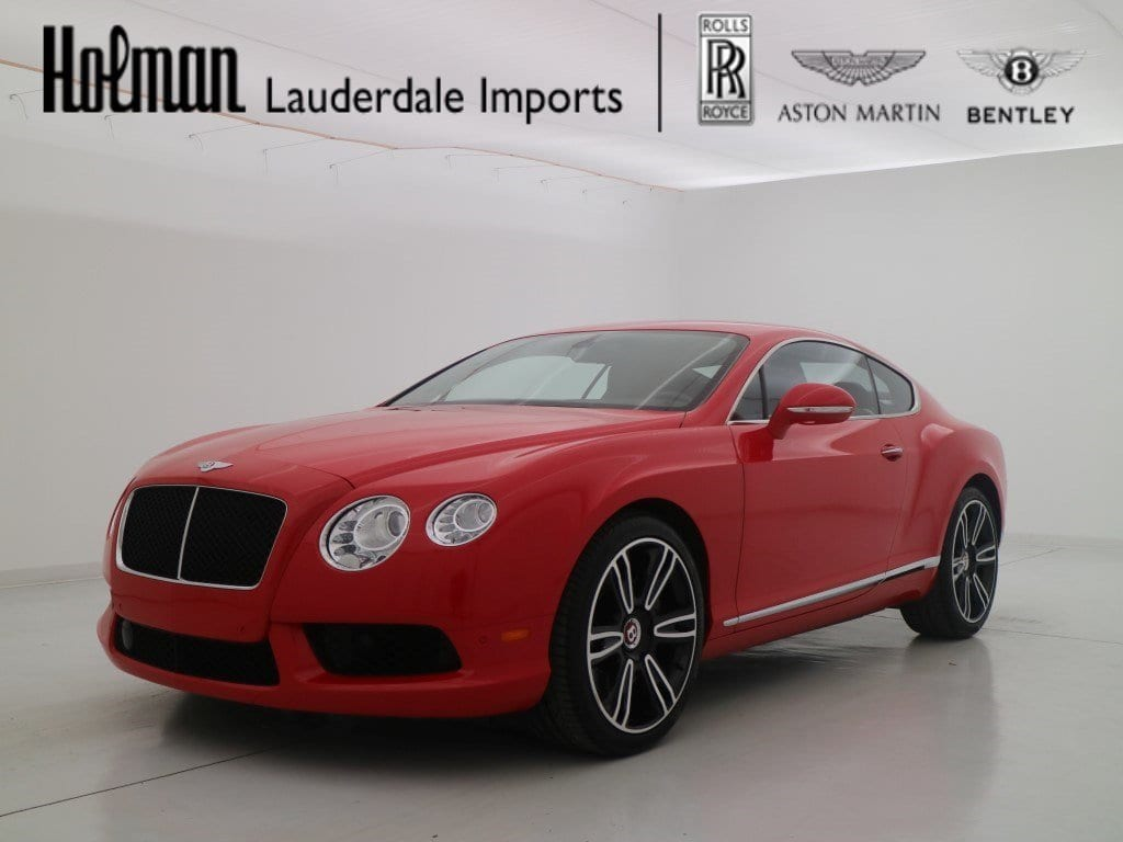 Photo 2015 Bentley Continental GT GT V8 Coupe