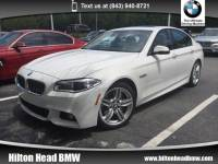 2014 BMW 5 Series 535d * BMW CPO Warranty * M Sport * Navigation * B Sedan Rear-wheel Drive
