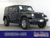 Certified 2016 Jeep Wrangler JK Unlimited Rubicon 4x4 SUV in San Diego