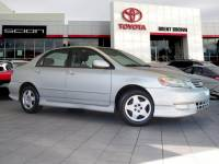 Pre-Owned 2003 Toyota Corolla S FWD 4dr Car