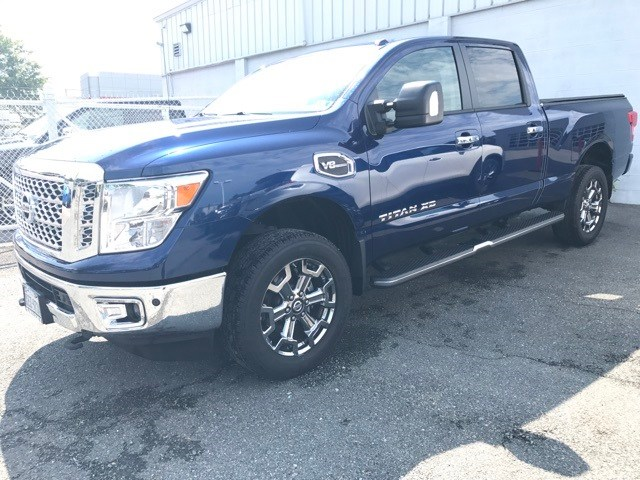 Photo Certified Pre-Owned 2017 Nissan Titan XD SV Truck Crew Cab in Mechanicsville, VA