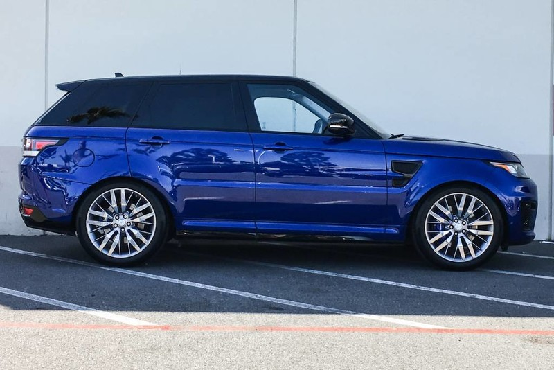 Photo Certified Pre-Owned 2016 Land Rover Range Rover Sport V8 SVR Four Wheel Drive SUV