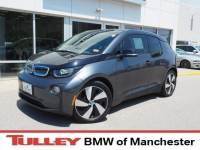 2016 Certified Used BMW i3 with Range Extender Hatchback Mineral Gray w/BMW i Frozen Blue Accent For Sale Manchester NH & Nashua   Stock:MPA2505