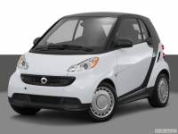 2015 smart fortwo Coupe Rear-wheel Drive 2-door