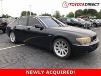 2004 BMW 745Li Sedan Rear-wheel Drive