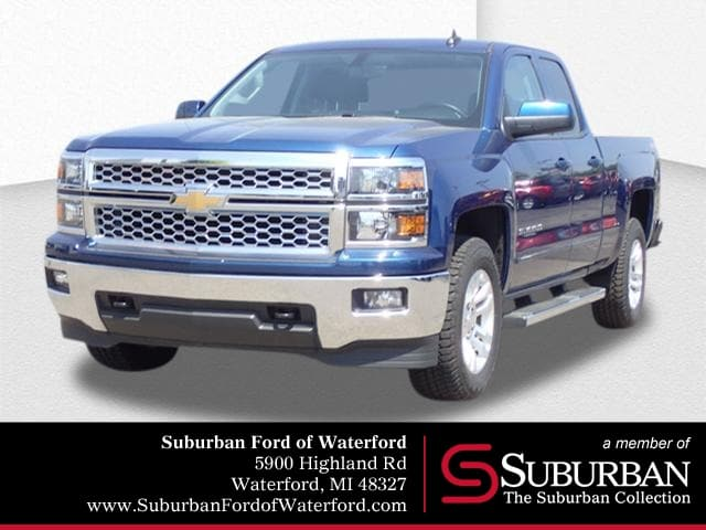 Photo Used 2015 Chevrolet Silverado 1500 LT Truck Double Cab V-8 cyl in Waterford, MI