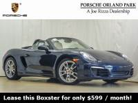 Certified Pre-Owned 2015 Porsche Boxster RWD 2D Convertible