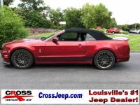 PRE-OWNED 2014 FORD MUSTANG SHELBY GT500 RWD 2D CONVERTIBLE