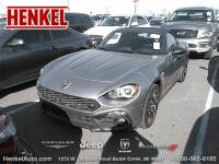 PRE-OWNED 2017 FIAT 124 SPIDER ABARTH CONV. RWD CONVERTIBLE