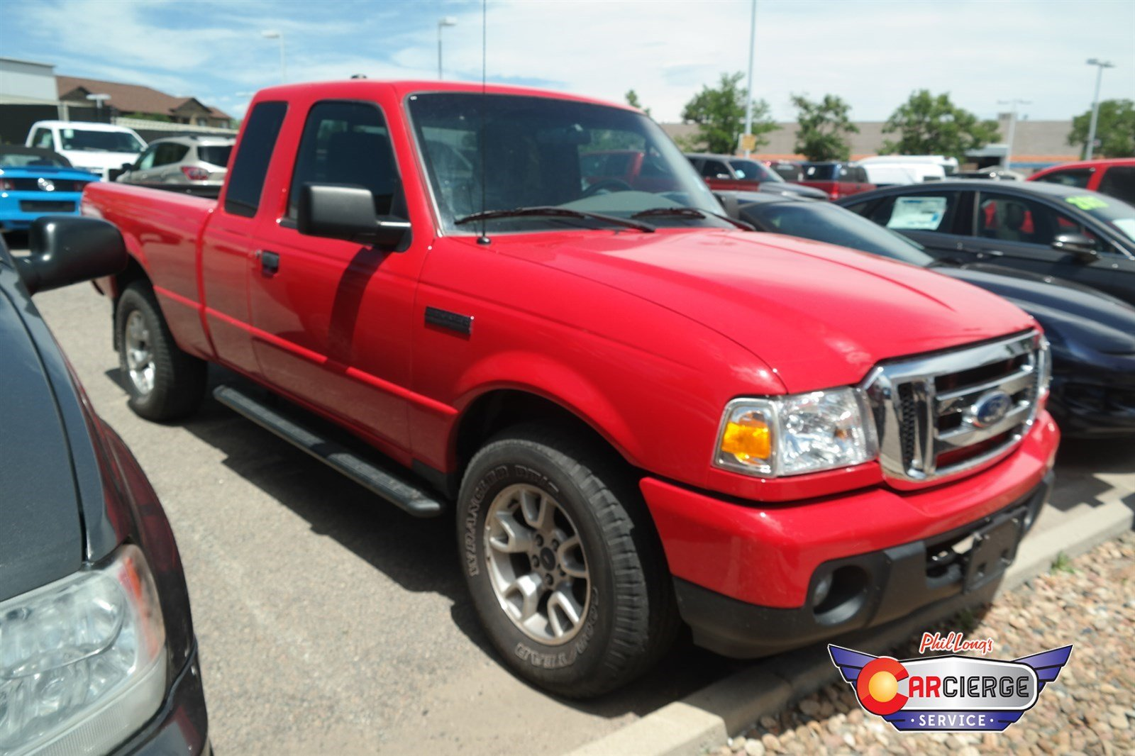 Photo Pre-Owned 2011 Ford Ranger XLT 4-Wheel Drive Extended Cab Pickup