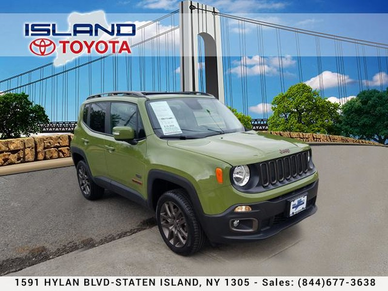 Photo Pre-Owned 2016 Jeep Renegade 4WD 4dr 75th Anniversary LIFE TIME WARRANTY Four Wheel Drive Sport Utility