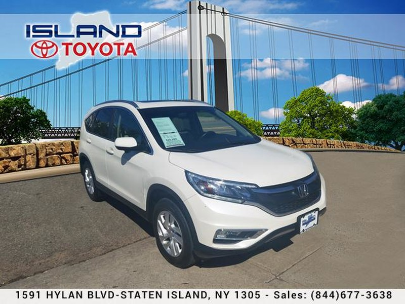 Photo Pre-Owned 2015 Honda CR-V AWD 5dr EX-L LIFE TIME WARRANTY All Wheel Drive SUV
