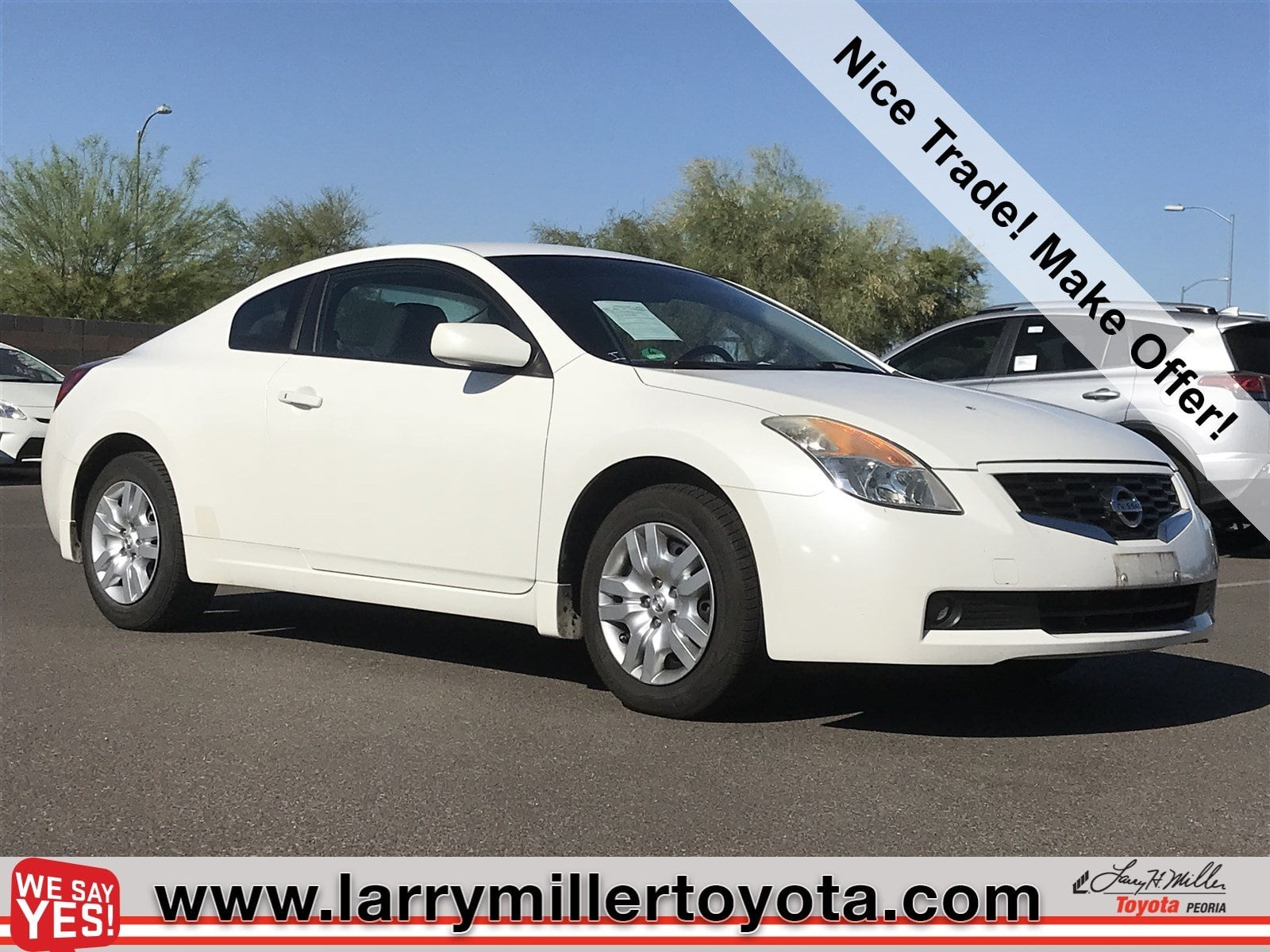 Photo Used 2009 Nissan Altima For Sale  Peoria AZ  Call 866 748-4281 on Stock 80451A