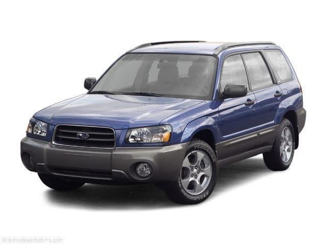 Photo Used 2004 Subaru Forester 2.5 XT for sale on Cape Cod, MA