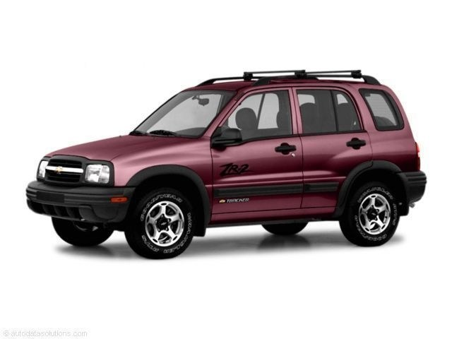 Photo Used 2003 Chevrolet Tracker Hard Top SUV for Sale in Sagle, ID