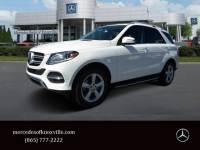 Certified Pre-Owned 2017 Mercedes-Benz GLE 350 SUV RWD Sport Utility