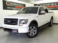 2013 Ford F-150 FX4 SUPERCREW 4WD NAVIGATION MOONROOF LEATHER SEATS REAR CAMERA