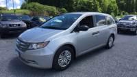 Used 2014 Honda Odyssey LX Van Passenger Van Front-wheel Drive in Bennington, VT