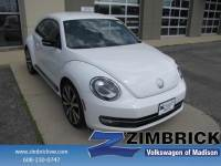 Used 2012 Volkswagen Beetle 2dr Cpe DSG 2.0T Turbo w/Sound/Nav Car For Sale in Madison, WI