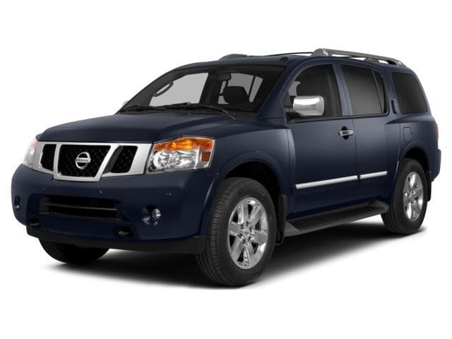 Photo Used 2015 Nissan Armada Platinum SUV For Sale in Asheville, NC