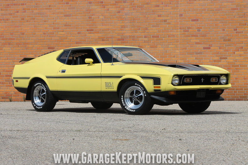 Photo 1972 Ford Mustang Mach 1