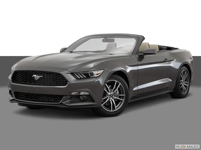 Photo Used 2016 Ford Mustang Ecoboost Premium Convertible Manual Rear-wheel Drive in Chicago, IL