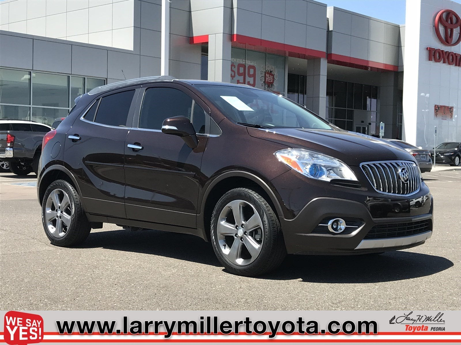 Photo Used 2014 Buick Encore For Sale  Peoria AZ  Call 866 748-4281 on Stock 80739A