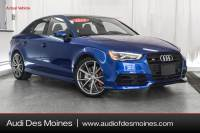 Certified Pre-Owned 2016 Audi S3 2.0T Premium Plus in Johnston
