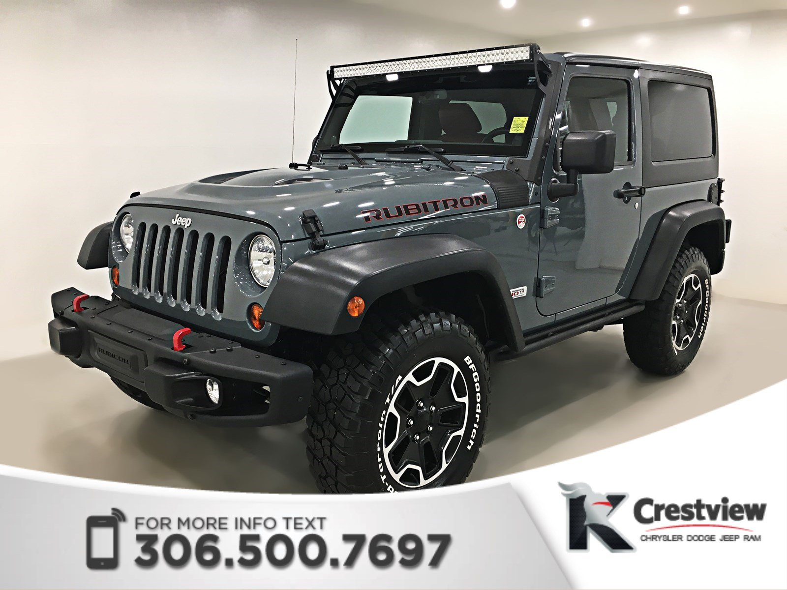 Photo Pre-Owned 2013 Jeep Wrangler Rubicon 10th Anniversary  Navigation  Remote Start 4WD Convertible