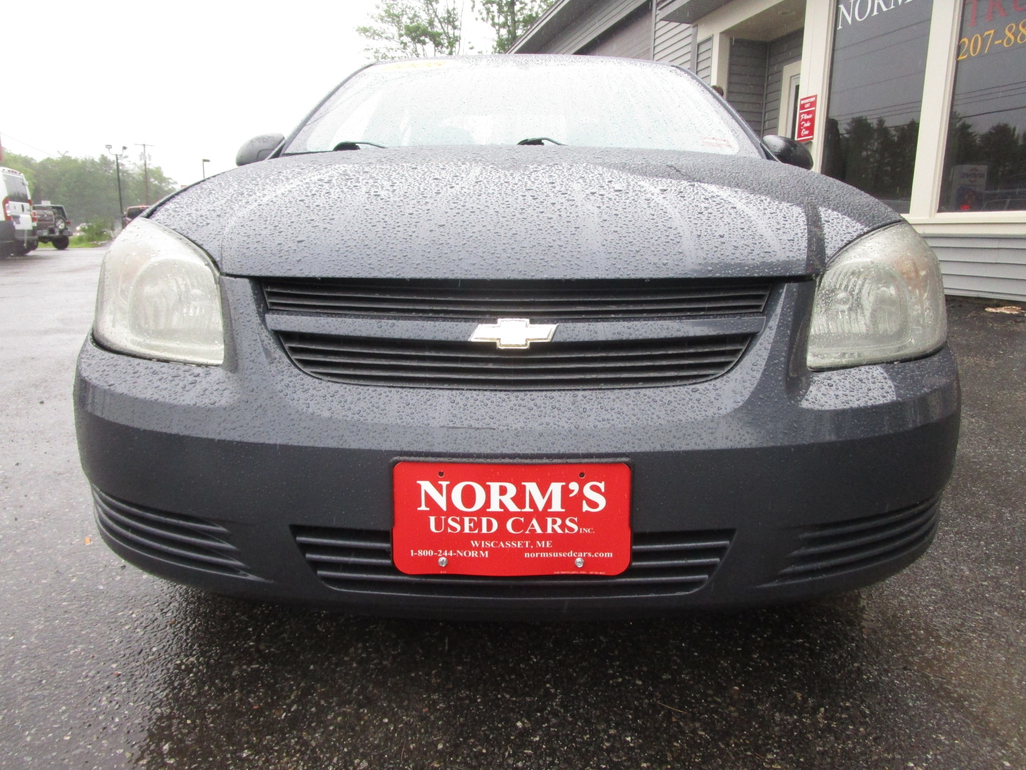 Photo Used 2008 Chevrolet Cobalt For Sale  Wiscasset ME