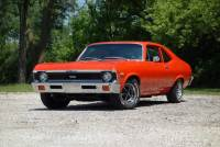 1972 Chevrolet Nova -CLEAN AND SOLID DRIVER-HUGGER ORANGE-VERY RELIABLE-SOUNDS GREAT! - SEE VID