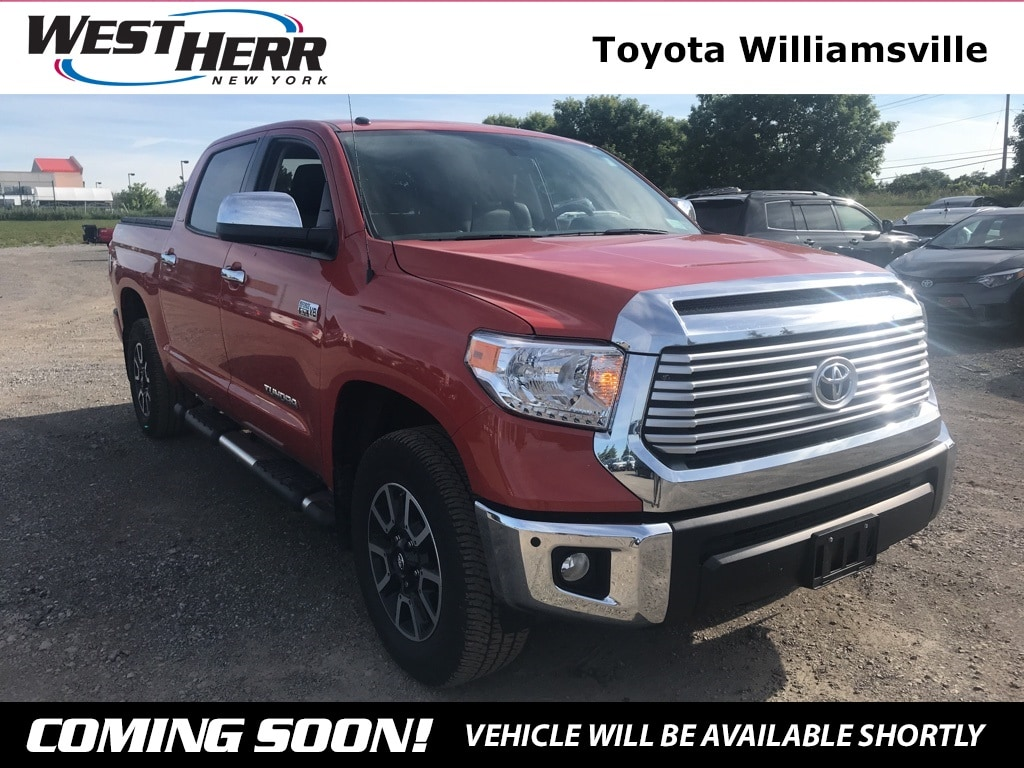Photo 2017 Toyota Tundra Limited Truck CrewMax For Sale - Serving Amherst