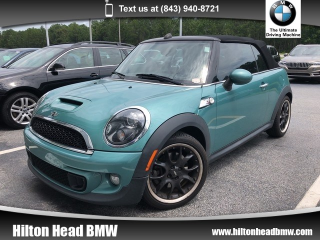 Photo 2012 MINI Cooper Convertible S  Two Owner Trade In  6-Speed Manual Transmissi Convertible