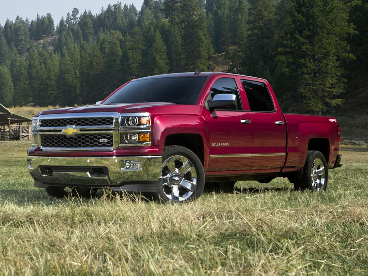Photo Pre-Owned 2014 Chevrolet Silverado 1500 LT Truck Double Cab For Sale  Raleigh NC