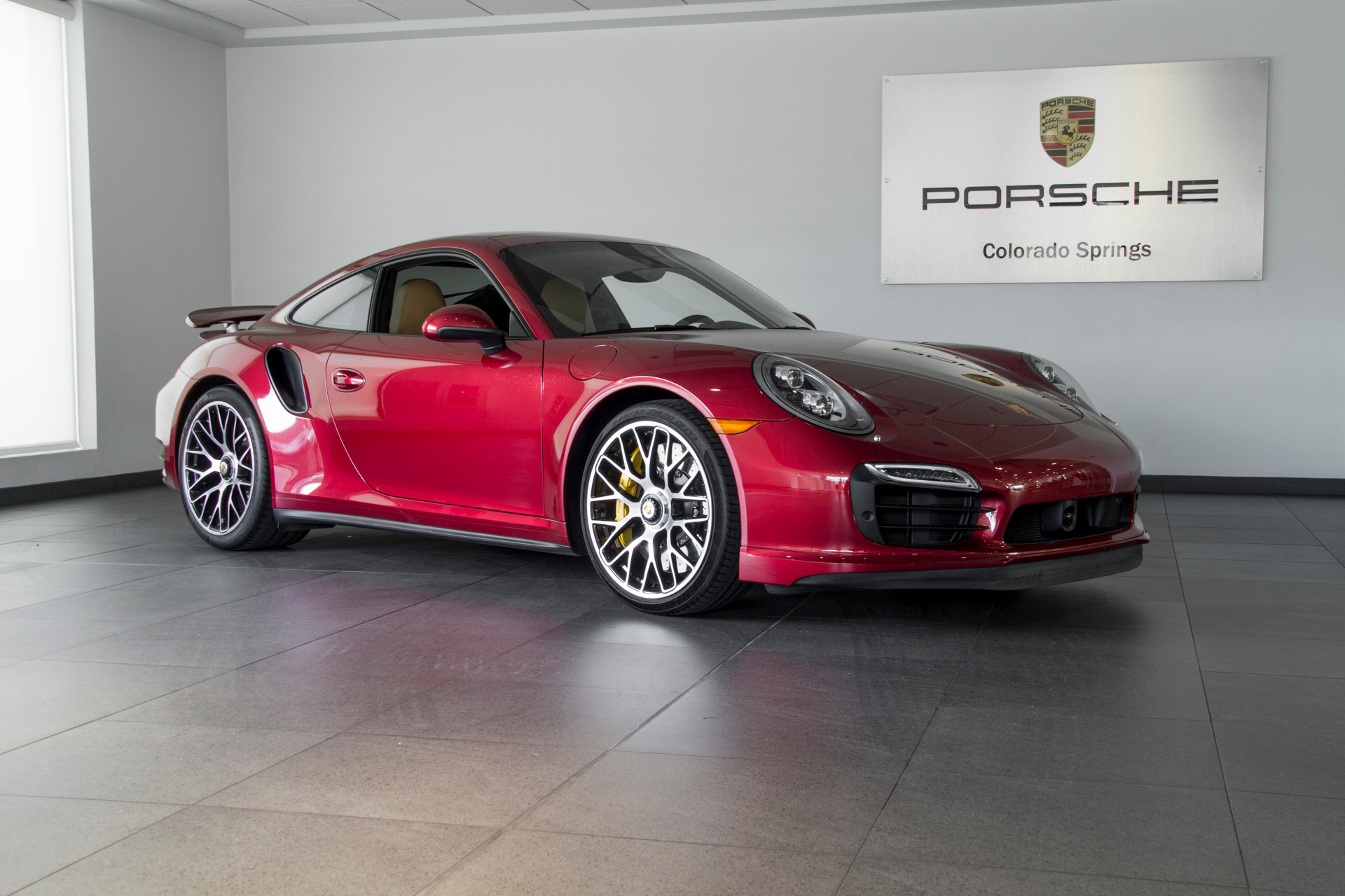 Photo 2015 Porsche 911 911 Turbo S