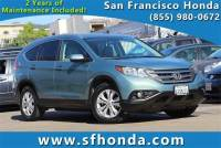 2012 Honda CR-V EX-L SUV at San Francisco, Bay Area Used Vehicle Dealer