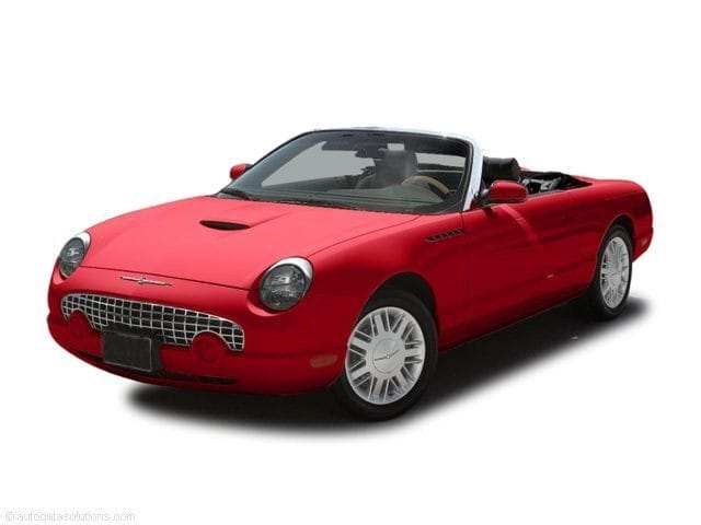 Photo Used 2004 Ford Thunderbird Convertible For Sale Dartmouth, MA