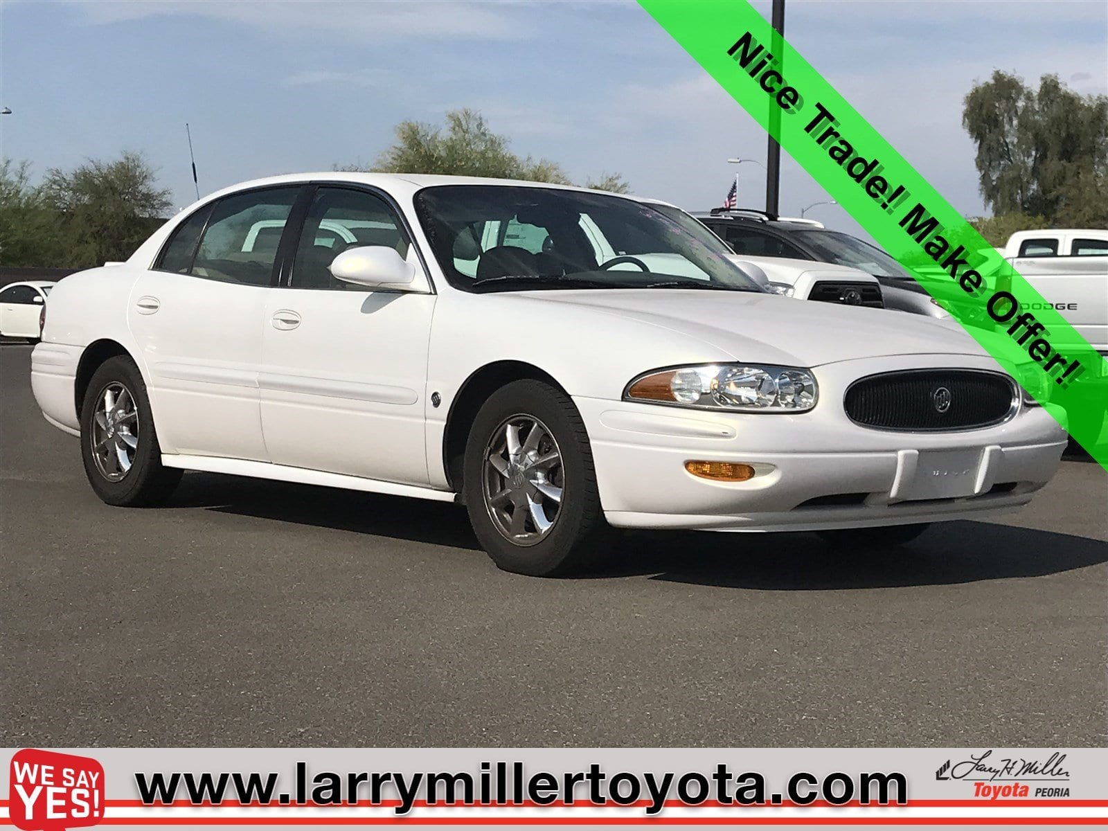 Photo Used 2004 Buick Lesabre For Sale  Peoria AZ  Call 866 748-4281 on Stock 89238B