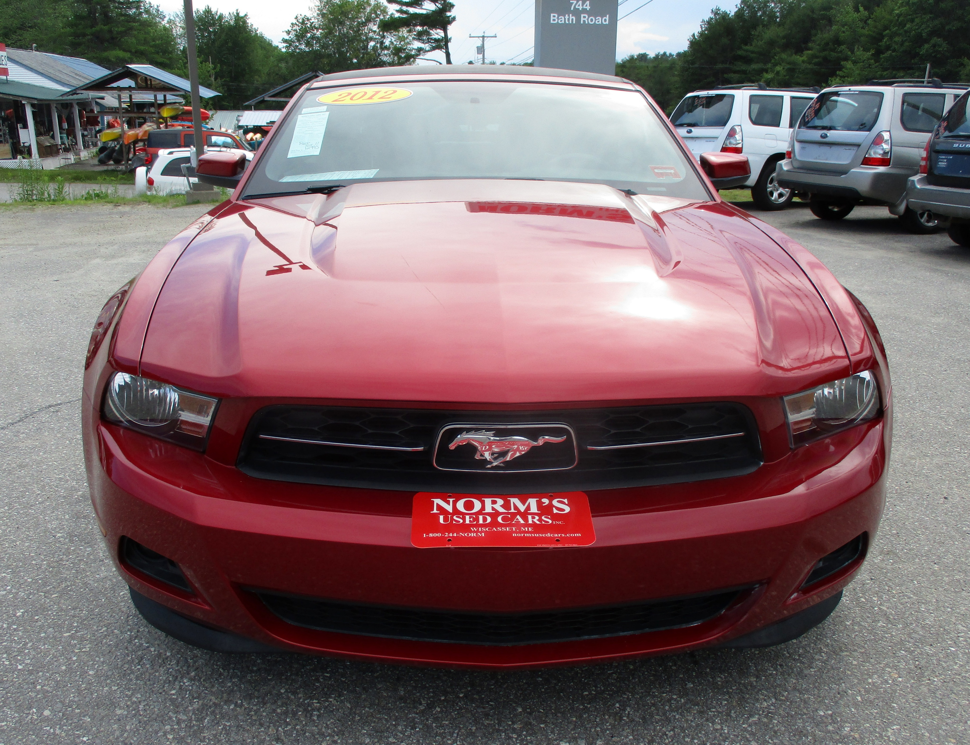 Photo Used 2012 Ford Mustang For Sale  Wiscasset ME