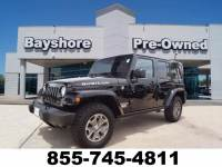2017 Jeep Wrangler JK Unlimited 4WD Rubicon 4x4 SUV in Baytown, TX Please call 832-262-9925 for more information.