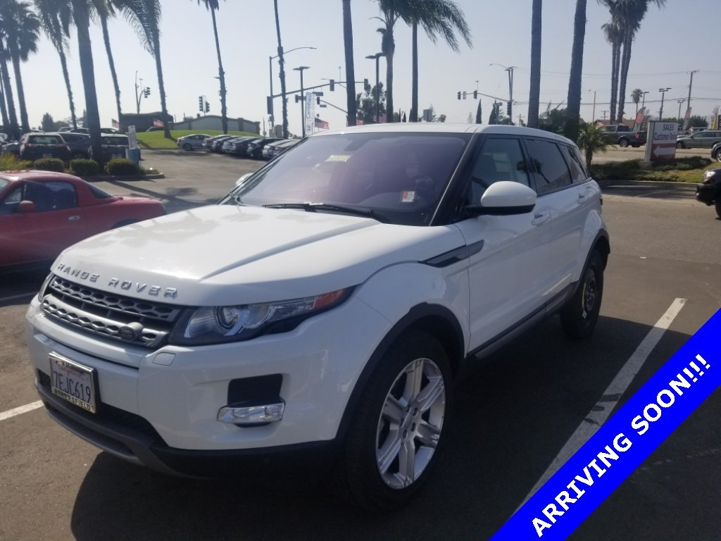 Photo Used 2014 Land Rover Range Rover Evoque Pure Plus in Oxnard CA